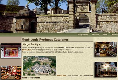 image de la porte de France de Mont-Louis