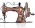 image dessin machine à coudre
