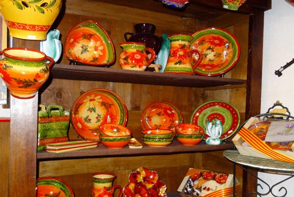 poterie collection fleur