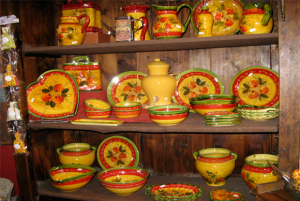 collection poterie orange